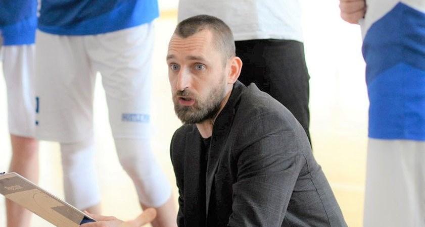 Krepšinio treneris M. Pociukonis. Algimanto Čižos nuotr.