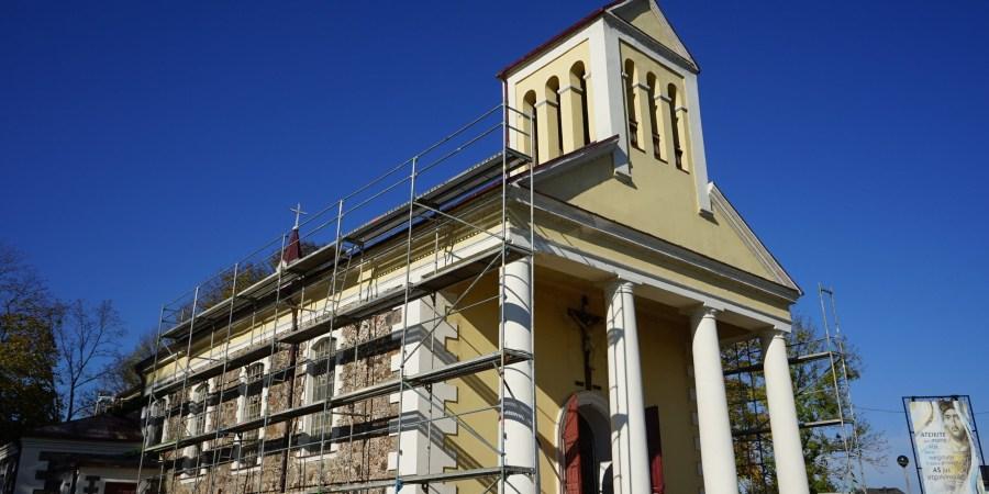 Pirmojo Alytaus Šv. Liudviko bažnyčia 2024 m. turėtų sulaukti ypatingo 500 metų jubiliejaus