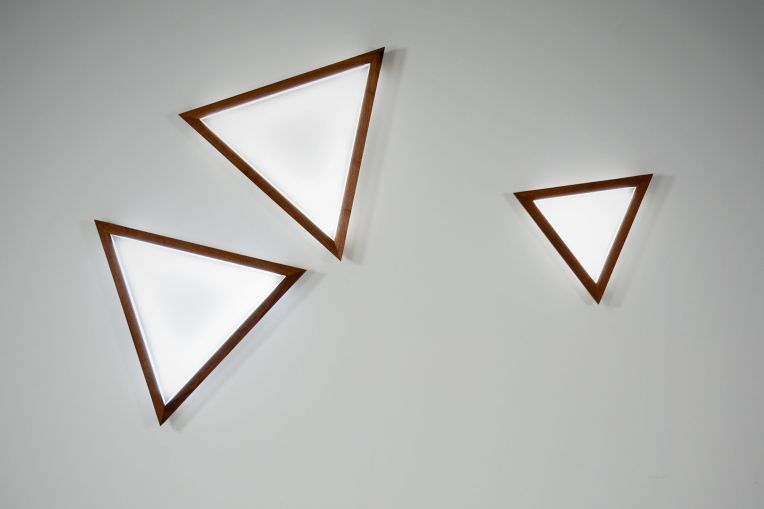 Triangle Sconce Hollis and Moris