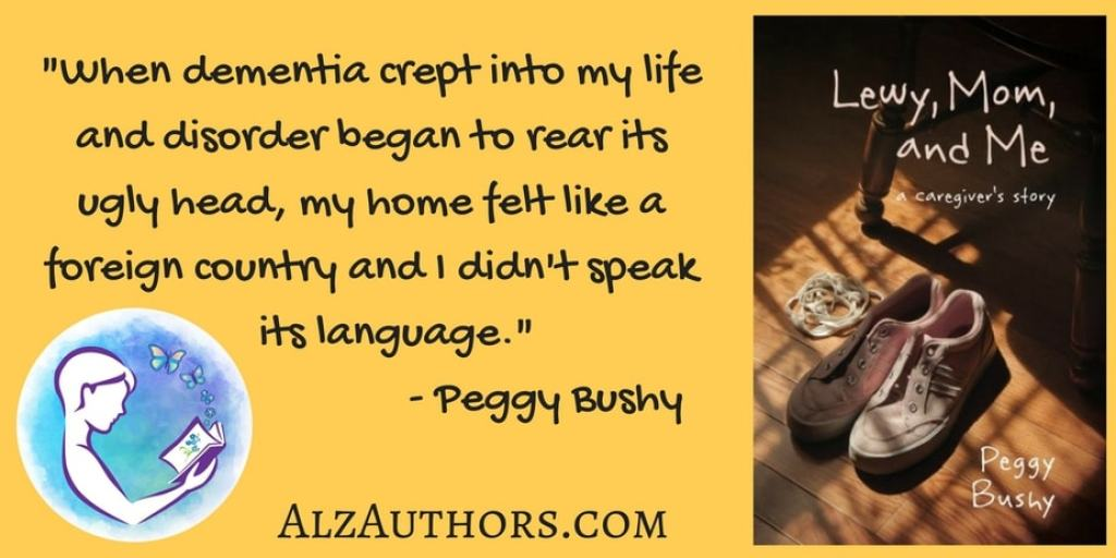 Welcome Peggy Bushy, author of Lewy, Mom, and Me