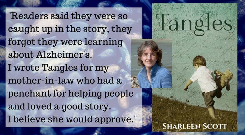 "Meet Sharleen Scott, author of ""Tangles"""