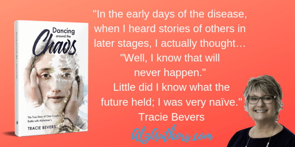 "Meet Tracie Bevers, Author of ""Dancing Around the Chaos"""