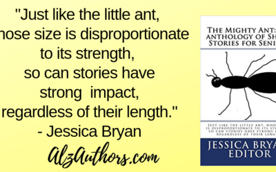 "Jessica Bryan Returns with ""The Mighty Ant – An Anthology of Short Stories for Seniors"""
