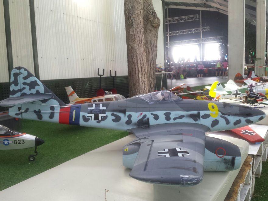 exposicion aviones aeromodelismo IV Movida solidaria