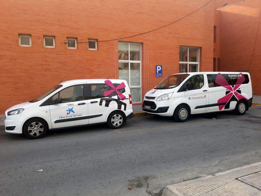 Segundo vehículo adaptado Asociación de Alzheimer de Bigastro