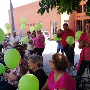 Suelta de globos - Día Mundial del Alzheimer