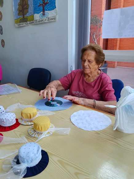 Taller de costura Alzheimer