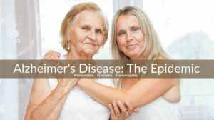 Alzheimers disease epidemic