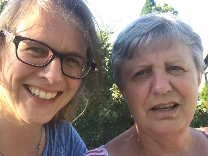 Peggy und Mama
