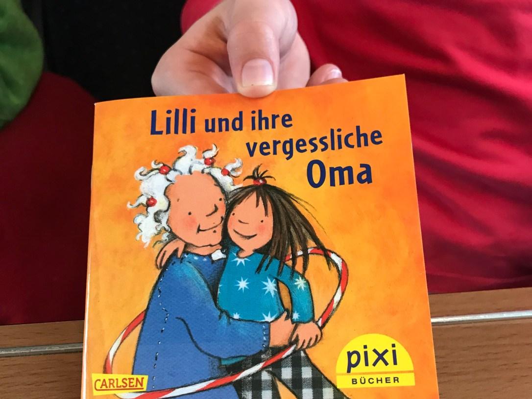Lilli und ihre vergessliche Oma - Kinderbuch über Alzheimer