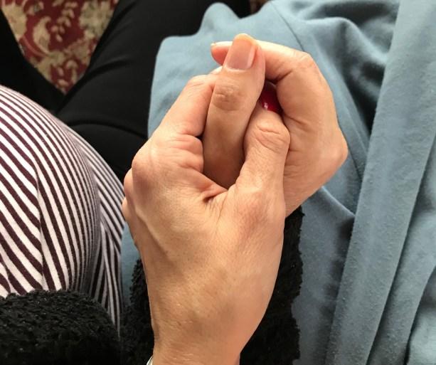 Hände Alzheimer