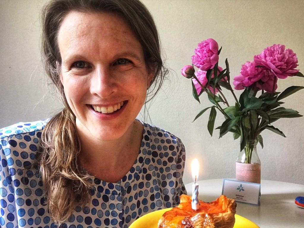 Peggy Elfmann Geburtstag Kerze Alzheimer und wir