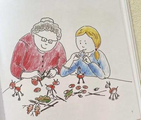 Oma Luise und die Schmetterlinge_Oma_Karla