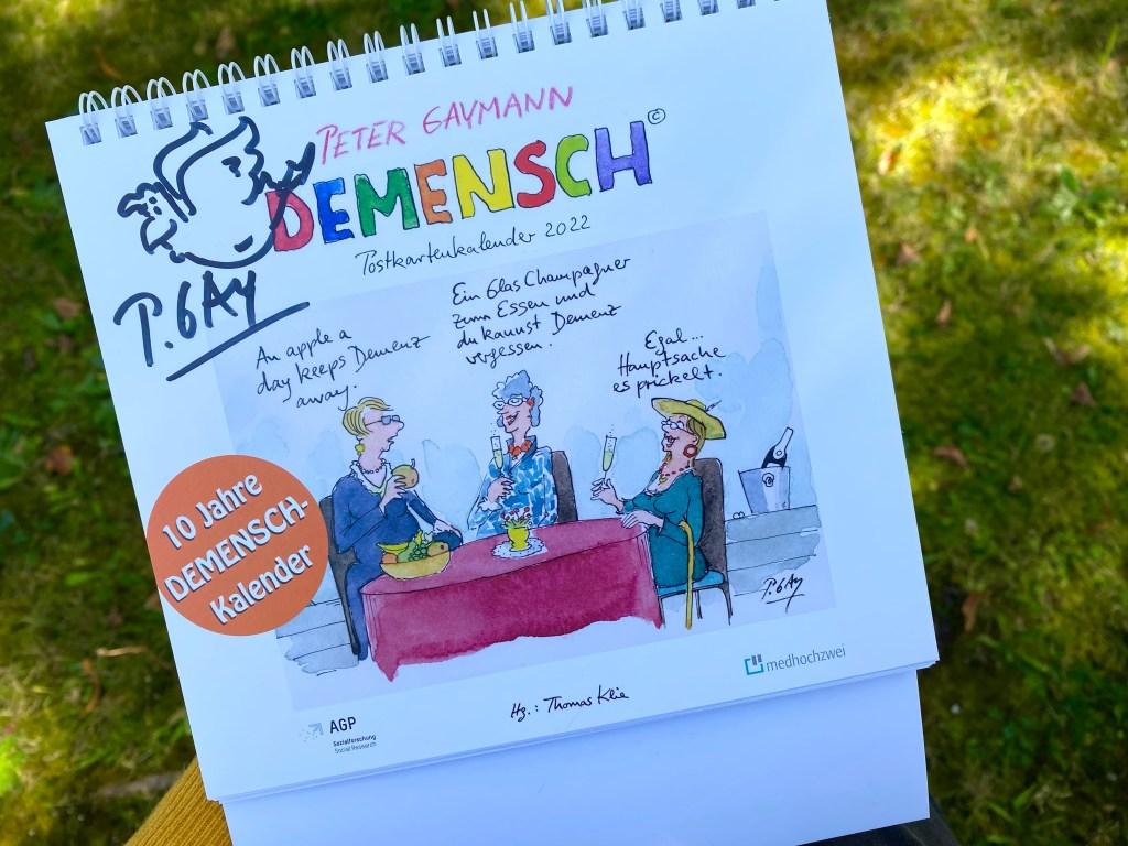 Verlosung Demensch Kalender 2022