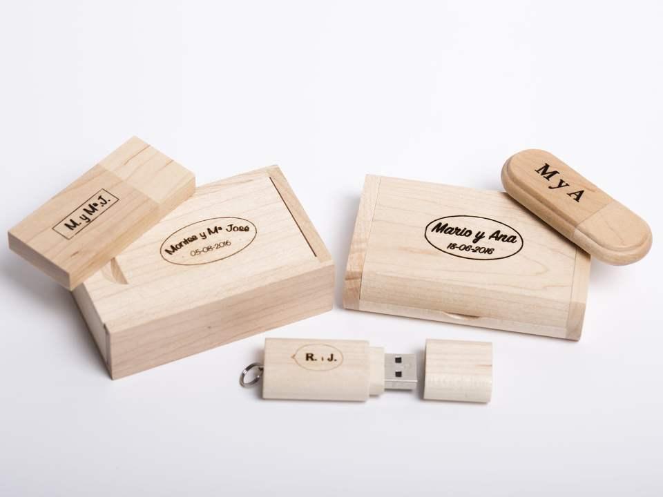 PenDrive de madera (USB de madera)