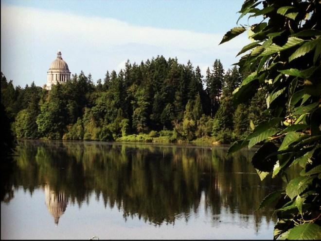 Washington State Capitol.  Olympia, WA.
