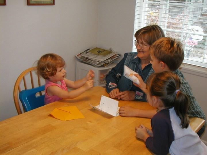 Gramma with kids_2003