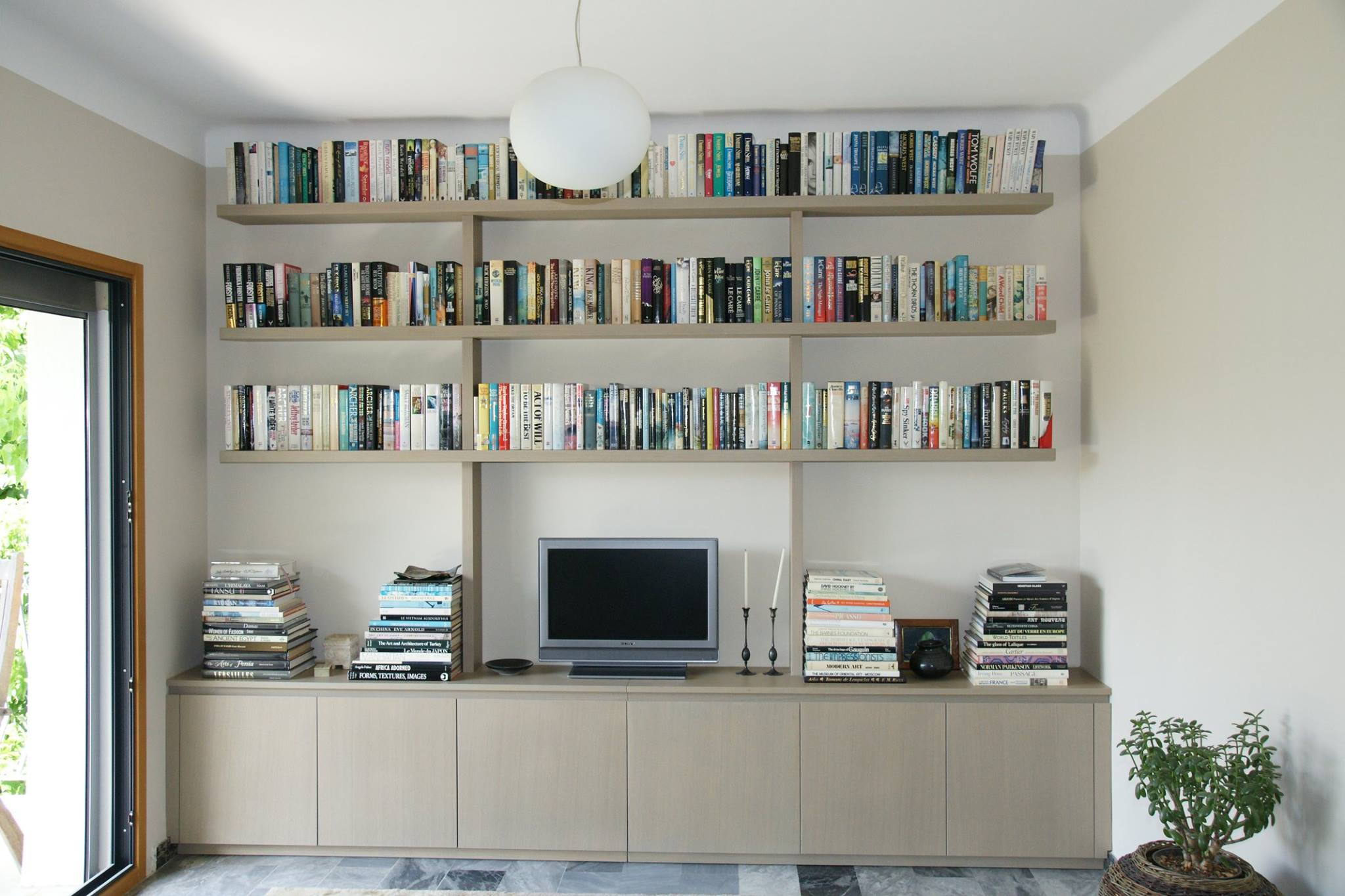 Meuble Tv Biblioth Que Am Agencements # Meuble Bibliotheque Et Tv