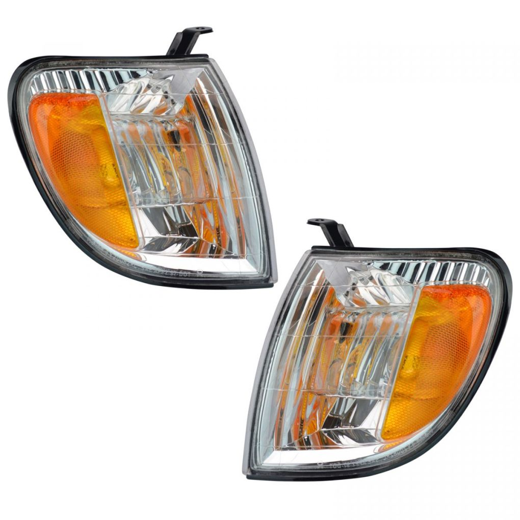 Corner Parking Turn Signal Light Lamp Left & Right Pair Set for Tundra Truck