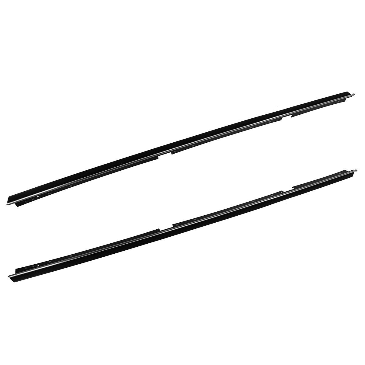 Window Sweeps Outer Weatherstrip Seal Pair Set For Chevy