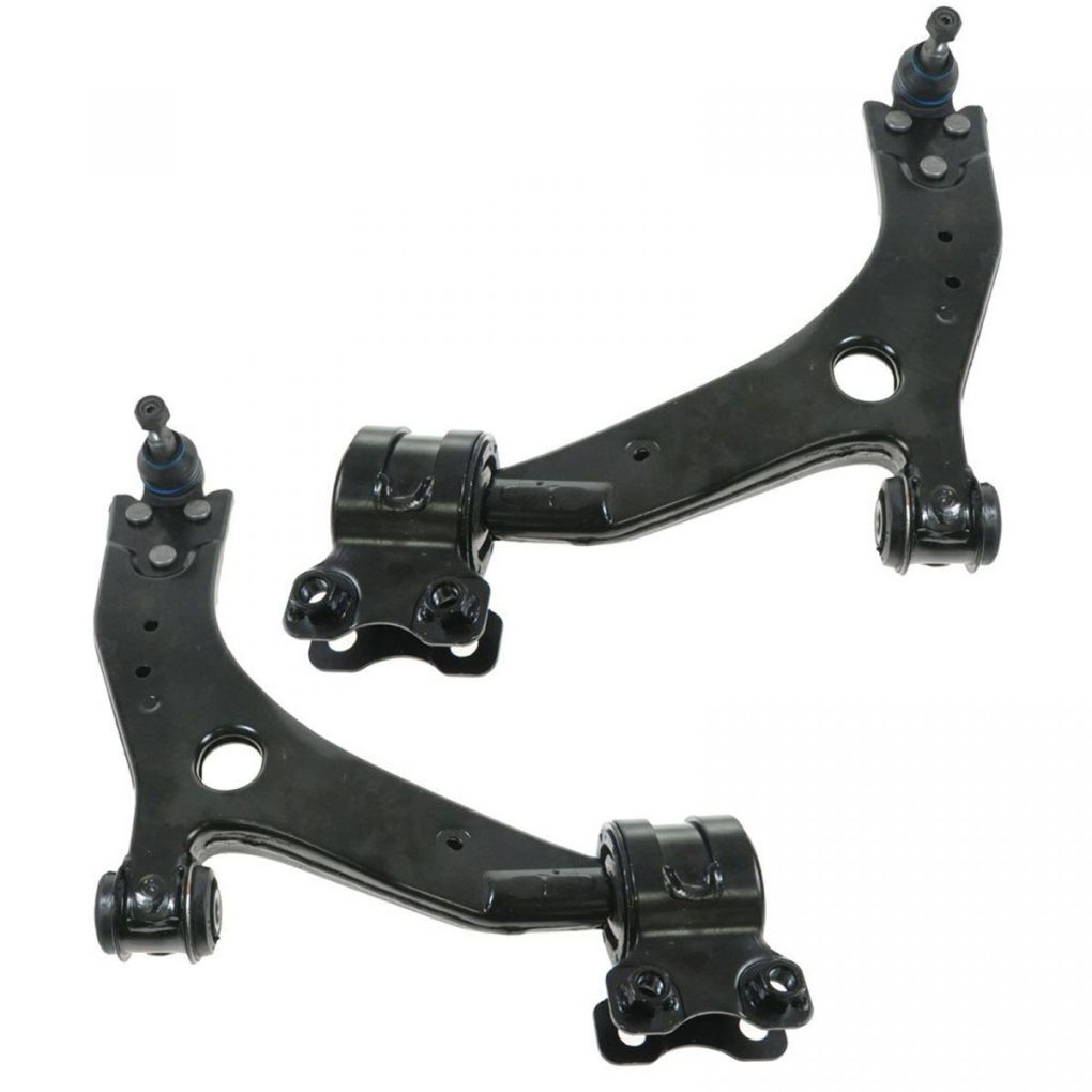 Front Lower Control Arm w/ Ball Joint Pair Set for Volvo C30 C70 V50 S40 C70
