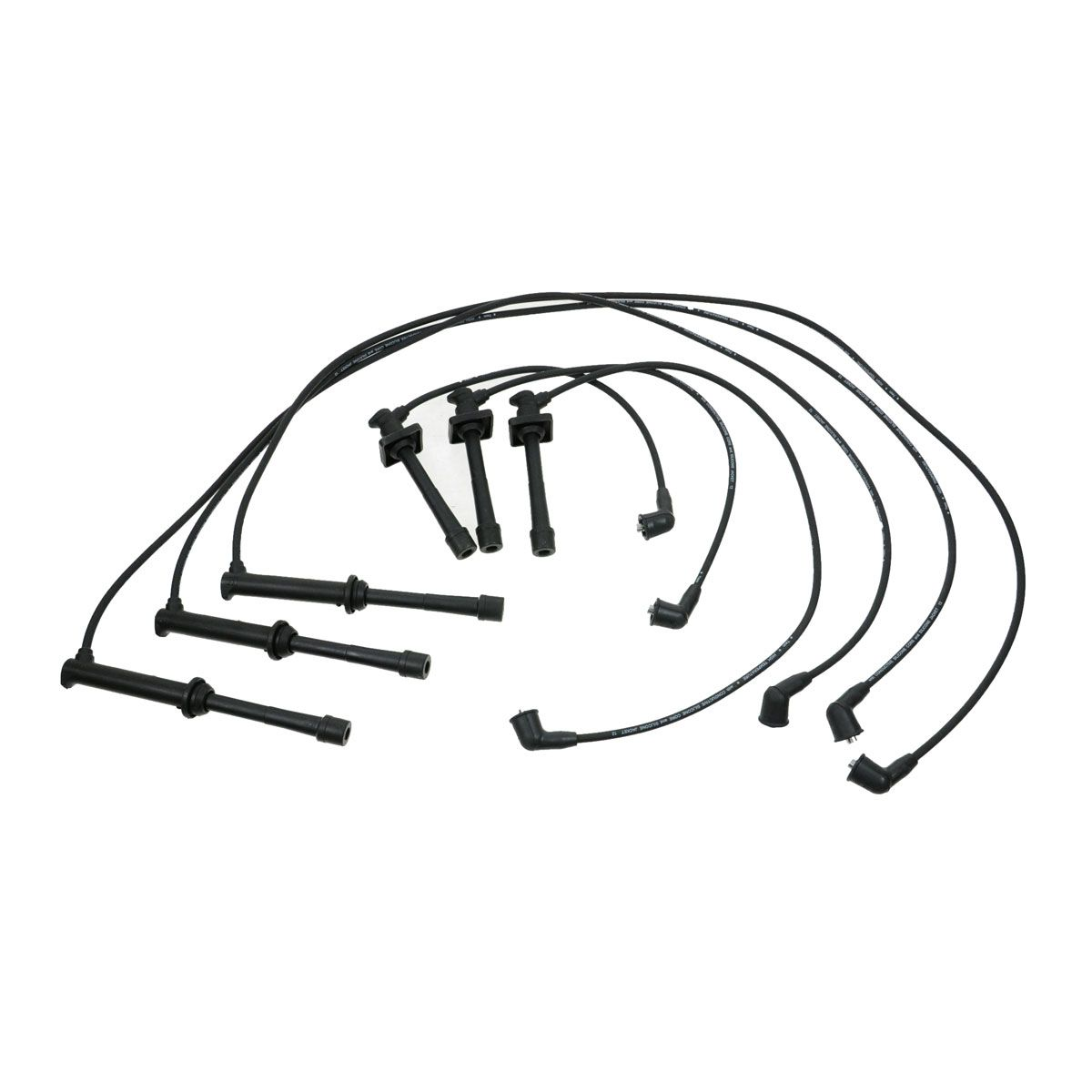 Ignition Spark Plug Wire Set Kit For Ford Probe Mazda 626 Millenia Mx 6 2 5l