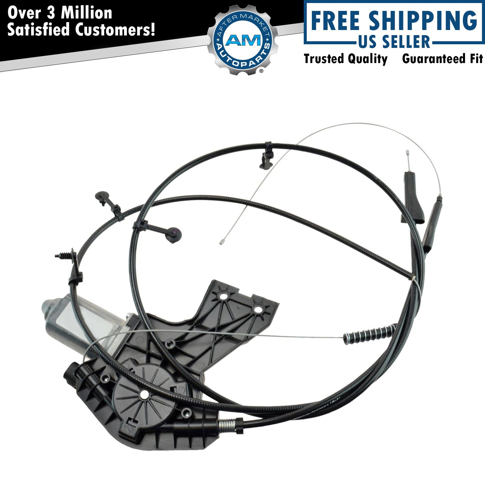Oem Rear Power Sliding Window Motor Cable Assembly For