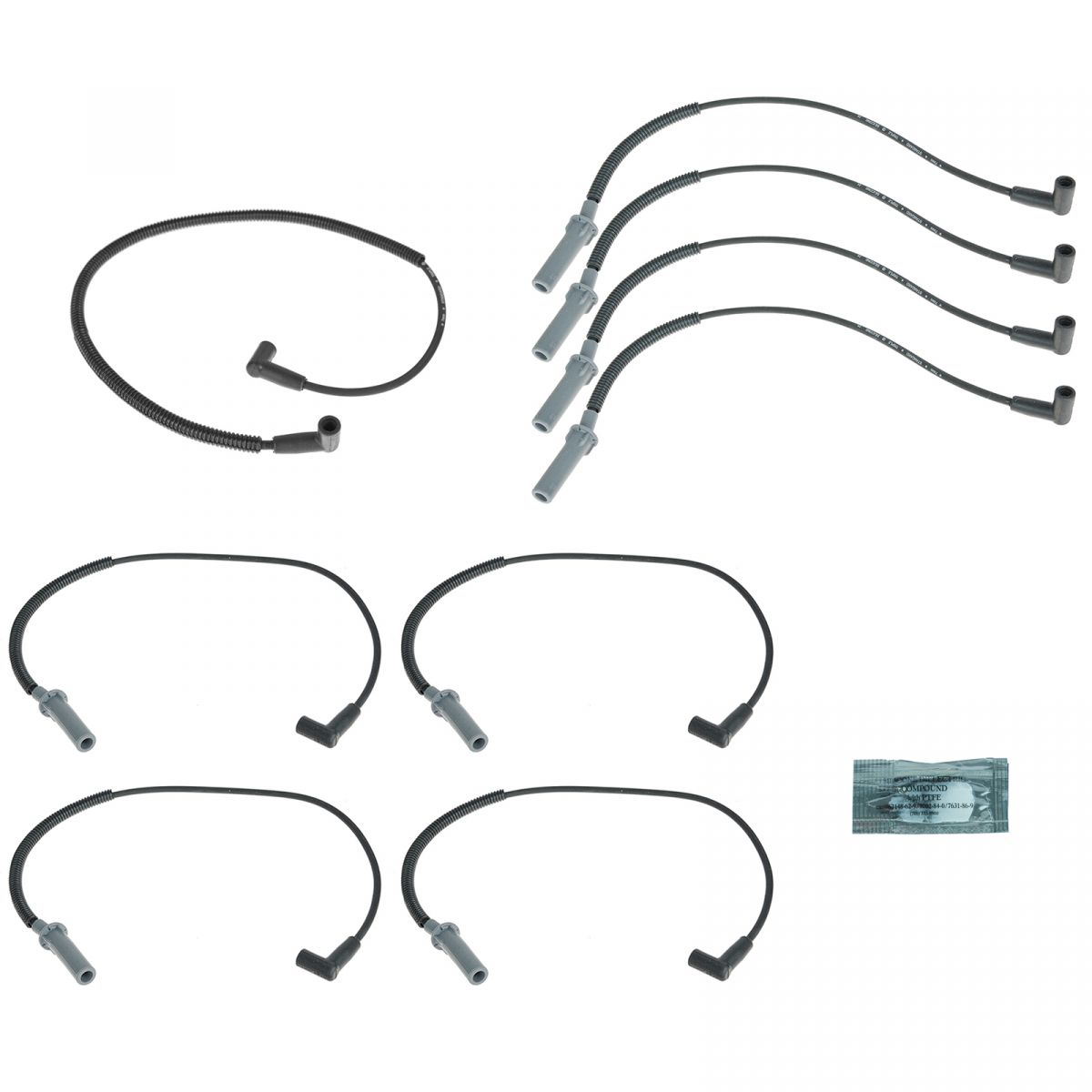 Ignition Spark Plug Wires Set For 93 98 Jeep Grand