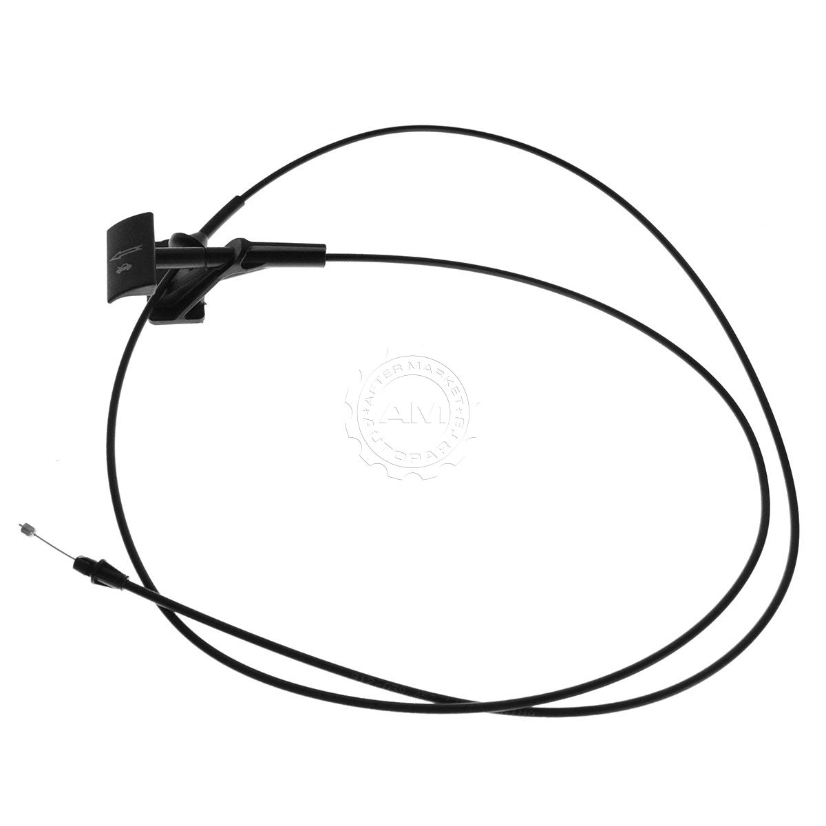 Hood Pop Release Cable With Handle For Ford F150 Lincoln