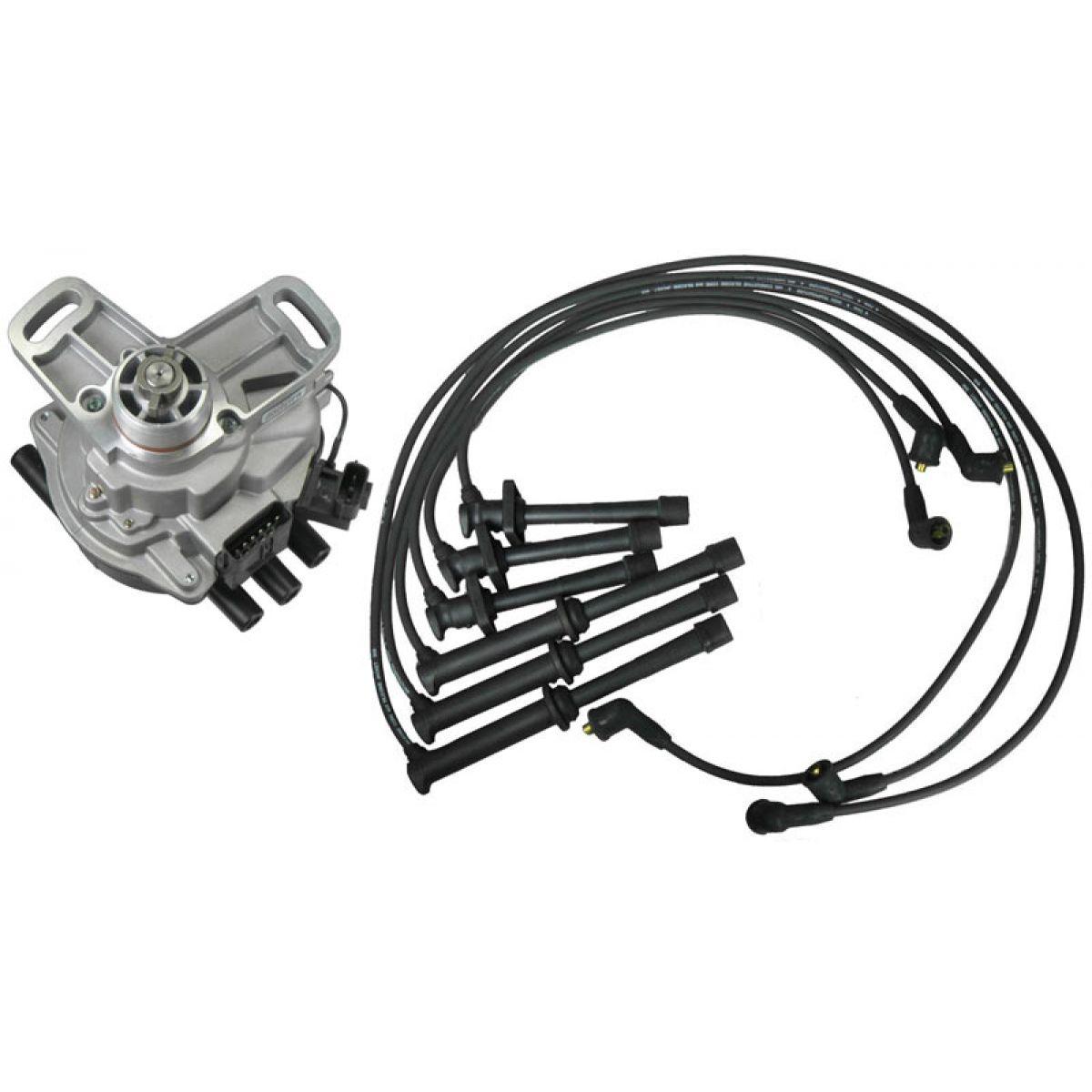 Distributor Amp Wire Set For 93 94 Mazda 626 Mx 6 Ford Probe