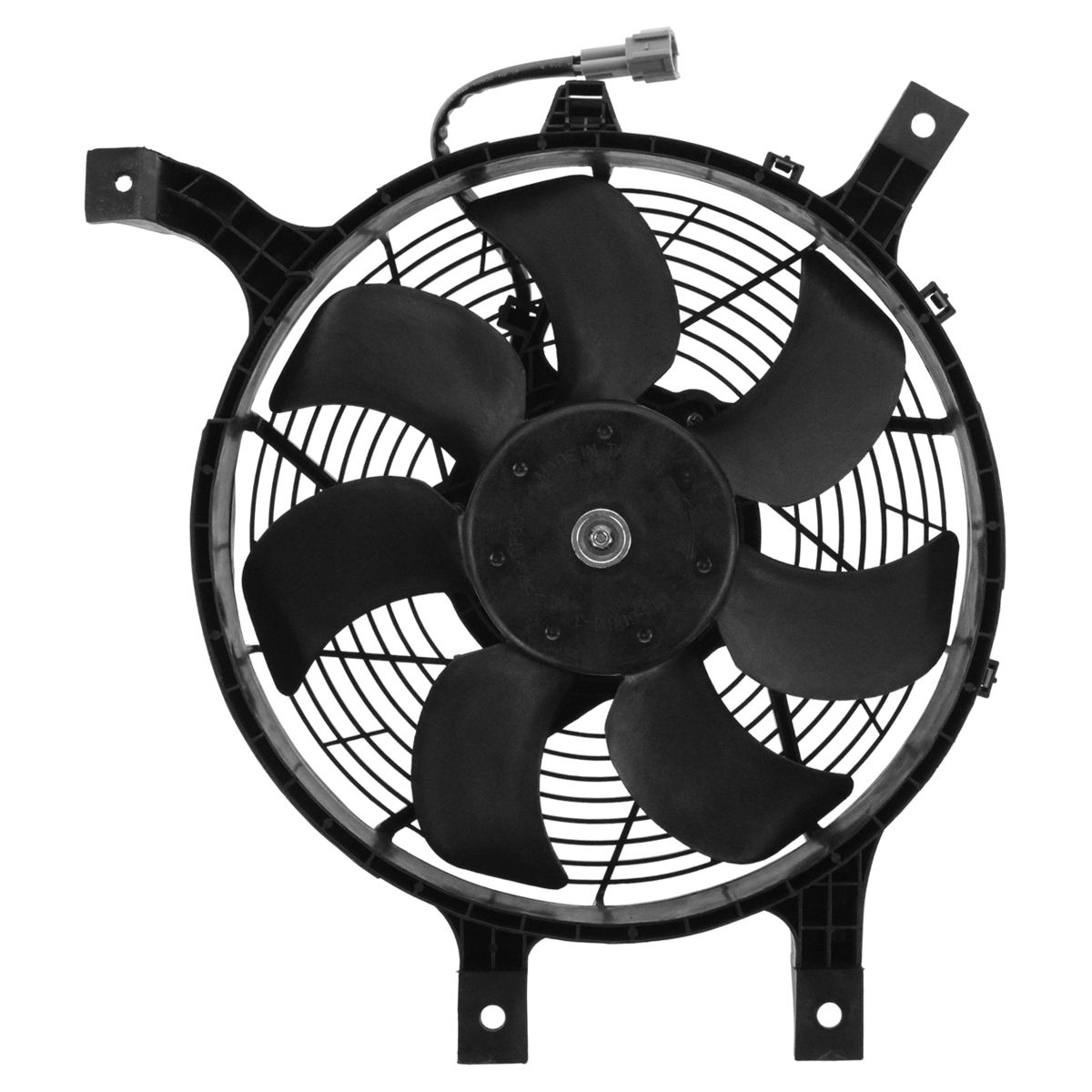 Ac ac condenser cooling fan assembly w motor for nissan frontier am 612317711 131110816056 ul