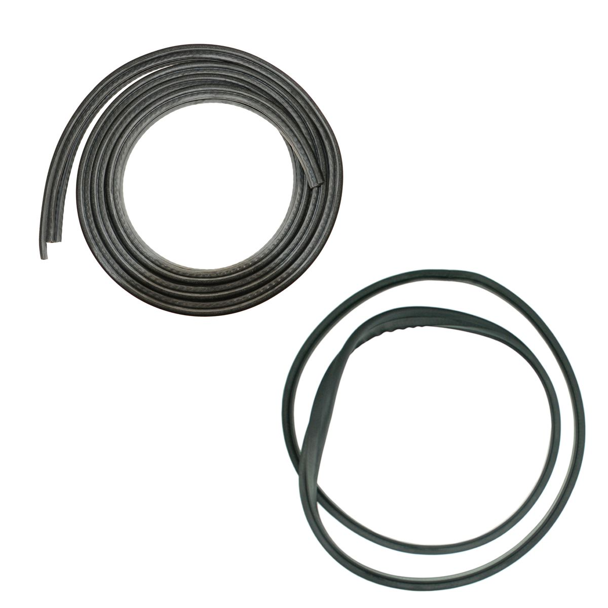 Complete Sunroof Rubber Weatherstrip Seals Kit Pair Set