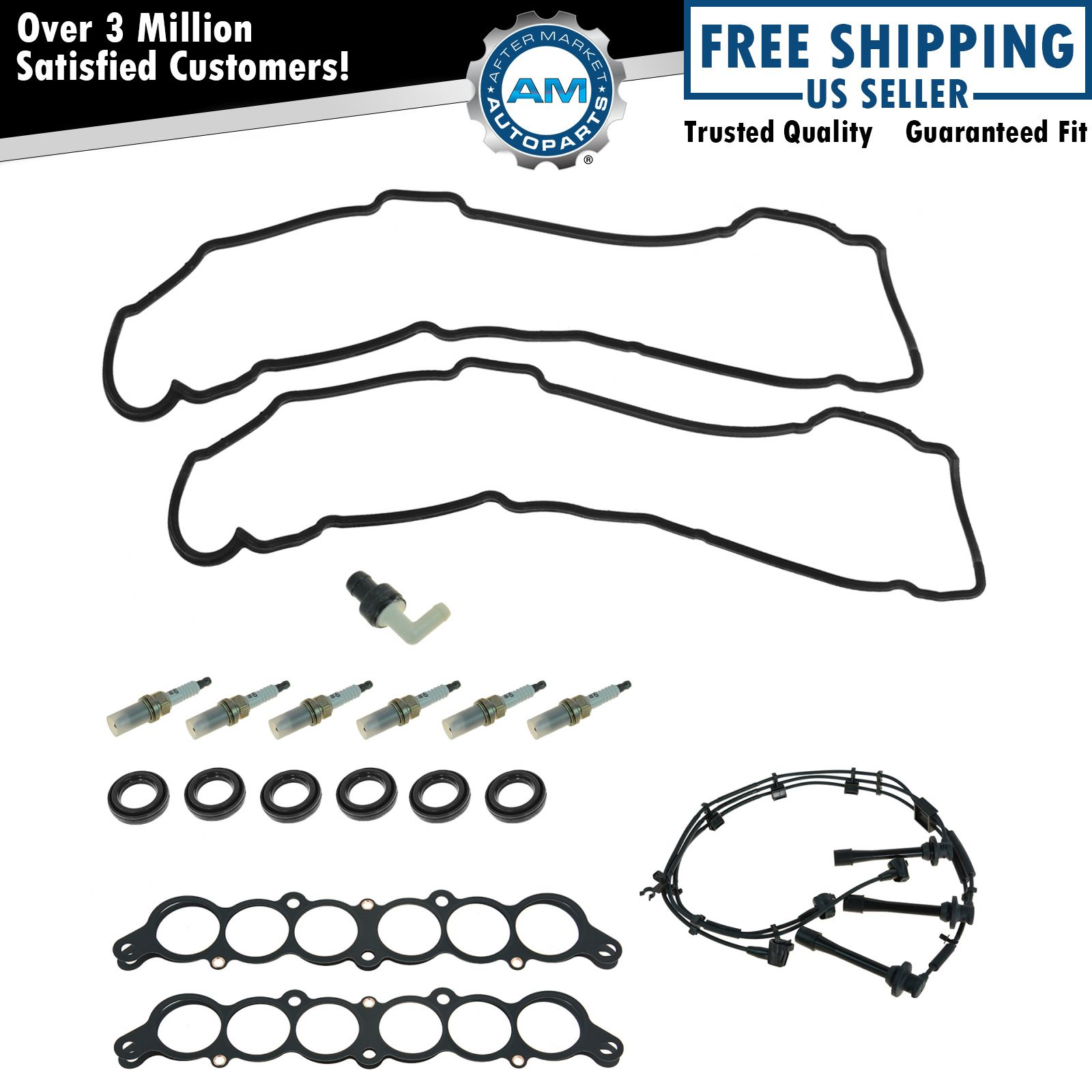 Oem Tune Up Kit Amp Gasket Set 18 Piece For Toyota Lexus V6