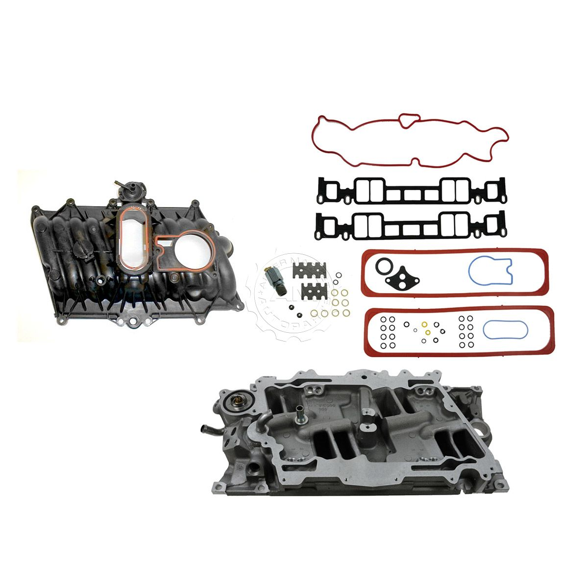 Dorman Upper Lower Intake Manifold Kit For Chevy Gmc Truck