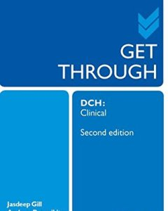 Get Through DCH Clinical 2nd Edition PDF
