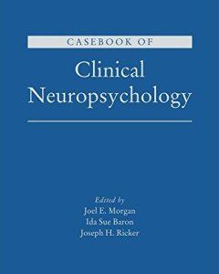 Casebook of Clinical Neuropsychology PDF