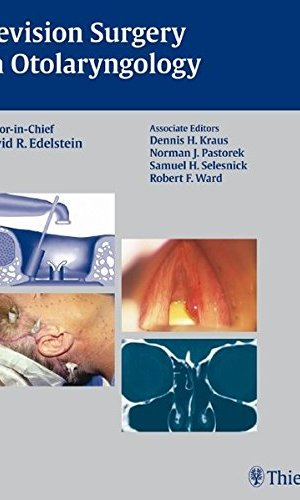 Revision Surgery in Otolaryngology PDF