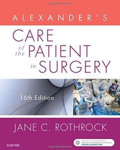 Alexander's Care of the Patient in Surgery 16th Edition PDF