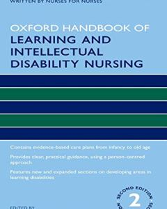 Oxford Handbook of Learning and Intellectual Disability Nursing 2nd Edition PDF