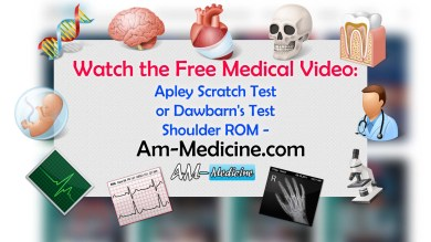 Apley Scratch Test or Dawbarn's Test – Shoulder ROM