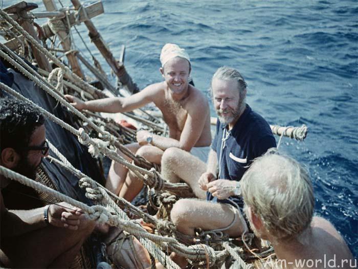 Дружба народов на папирусной лодке «Ра»