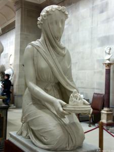 Римская весталка - избранная дочь