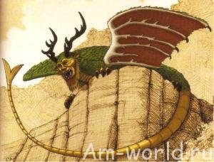 Дракон Пиаса - символ Иллинойса