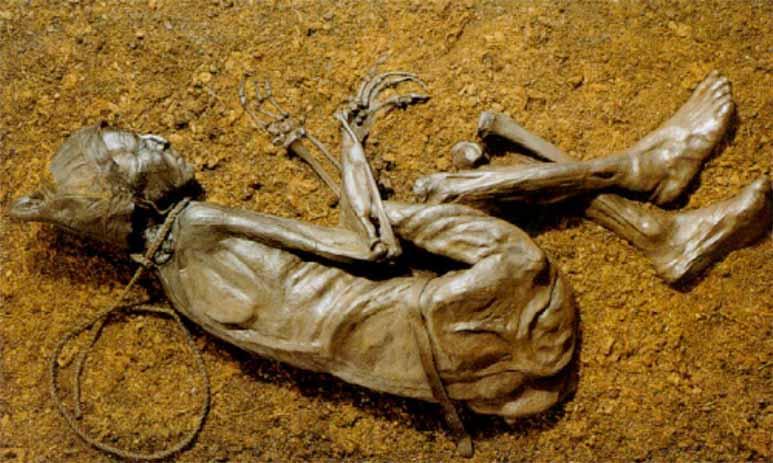 Болотные мумии: тайны тел найденных в болотах