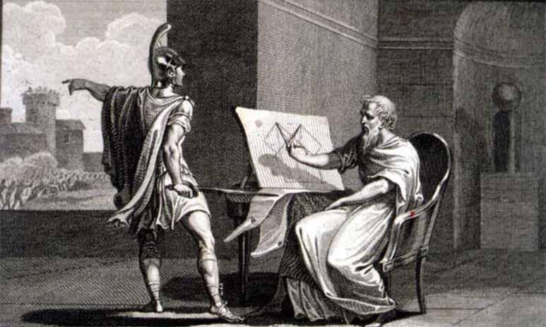Идея телевидения пришла в голову Архимеду