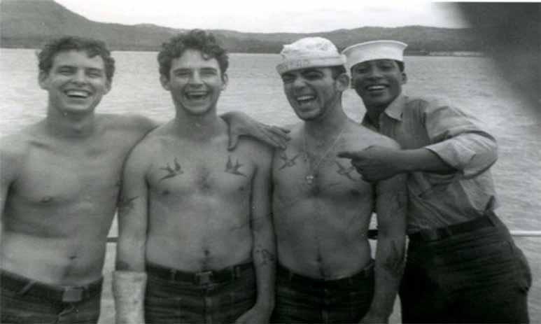 Счастливая татуировка для моряка