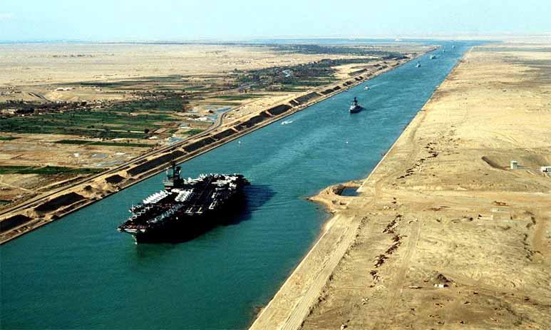 Тысячелетнее строительство Суэцкого канала