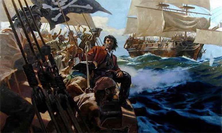 Первый пират Жан Флёри