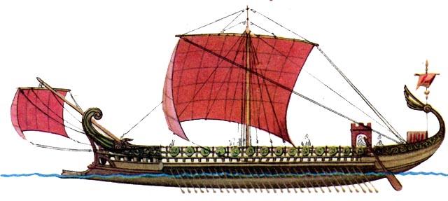 Как строились военные корабли в Древней Греции 2