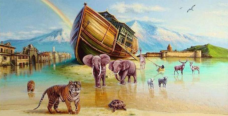 На поиски Ноева ковчега